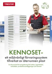 Treston's Kennoset brochure cover in Swedish